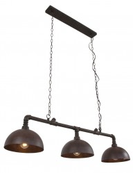 lampara de techo estilo industrial tres luces-1546B