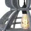 lampara-de-techo-fieltro-gris-8887GR-1