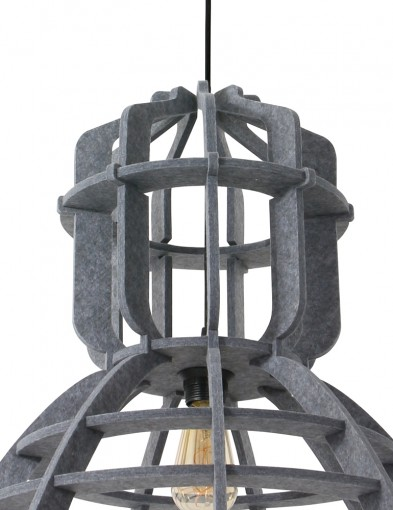 lampara-de-techo-fieltro-gris-8887GR-4