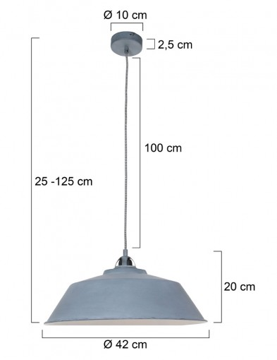 lampara-de-techo-gris-1318GR-4