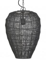 lampara de techo gris-1735GR