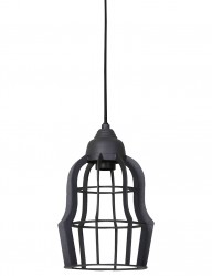 lampara de techo gris-2042GR