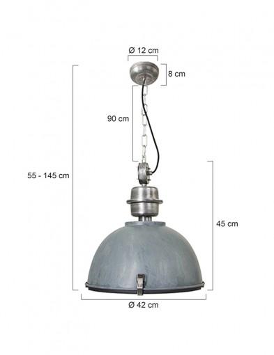 lampara-de-techo-gris-7586GR-7