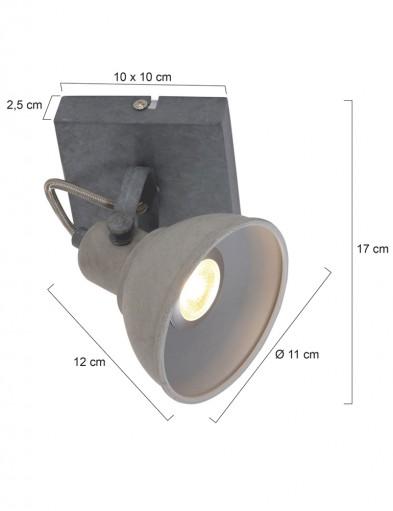 lampara-de-techo-gris-antracila-industrial-ajustable-1241GR-4