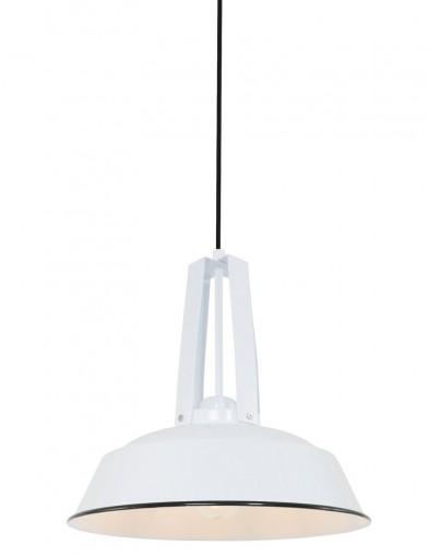 lampara de techo industrial blanca-7704W