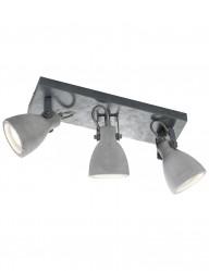 lampara de techo industrial concrete-1813GR