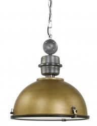 lampara de techo industrial dorada-7586GO