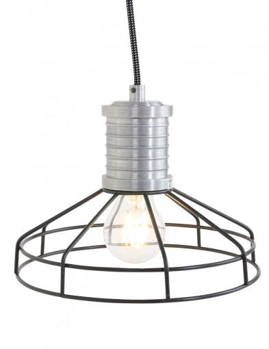 lampara de techo jaula de metal-7694ZW
