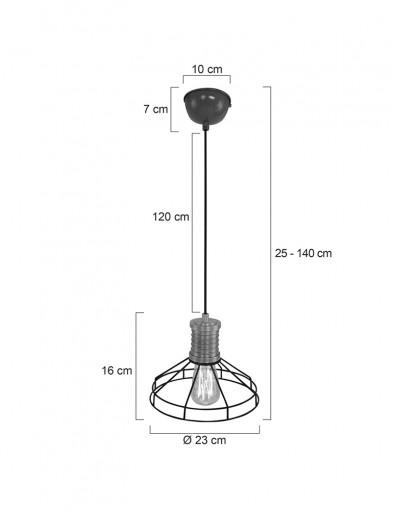 lampara-de-techo-jaula-de-metal-7694ZW-4