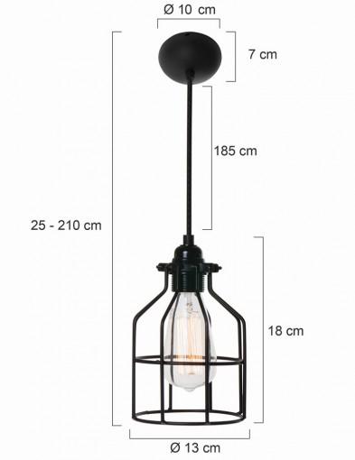 lampara-de-techo-jaula-rojo-8899RO-6