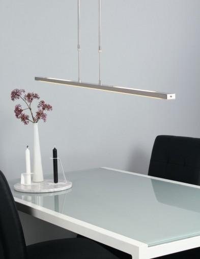 lampara de techo led color acero-1482ST