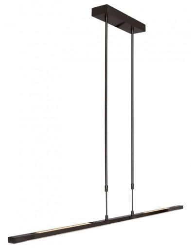 lampara de techo led negro-1482ZW