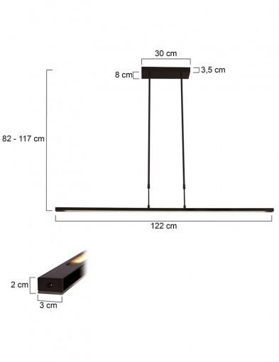 lampara-de-techo-led-negro-1482ZW-4