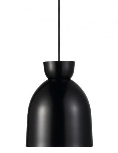 lampara de techo negra-2158ZW