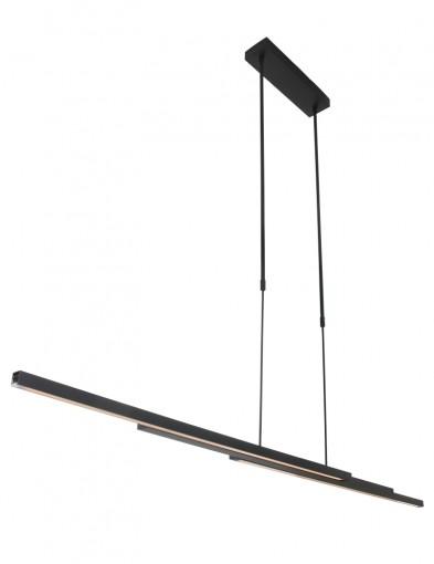 lampara de techo negra resistente-7970ZW