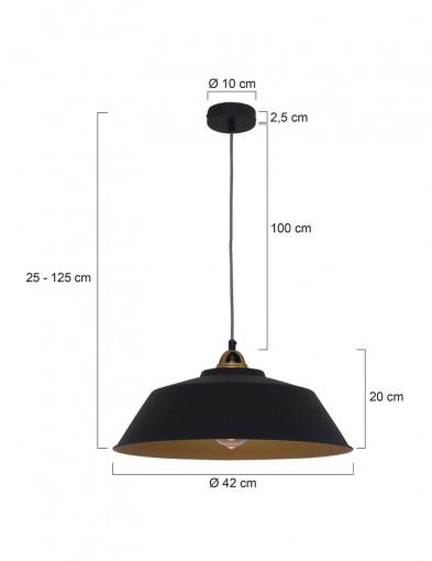 lampara-de-techo-negra-y-dorada-1318zw-6