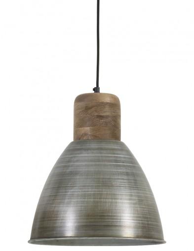 lampara de techo plateada-1745ST