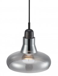 lampara de techo plateada-2156ZW