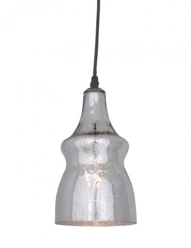 lampara de techo plateada-7955zi