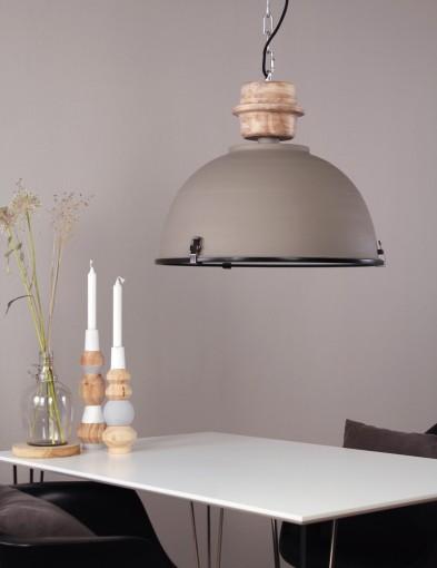 lampara de techo rustica-1459GR