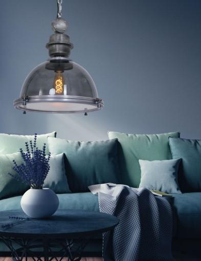 lampara de techo transparente-1452GR