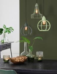 lampara-de-techo-verde-claro-2040G-1