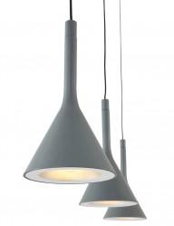 lampara de tres luces gris-7807GR