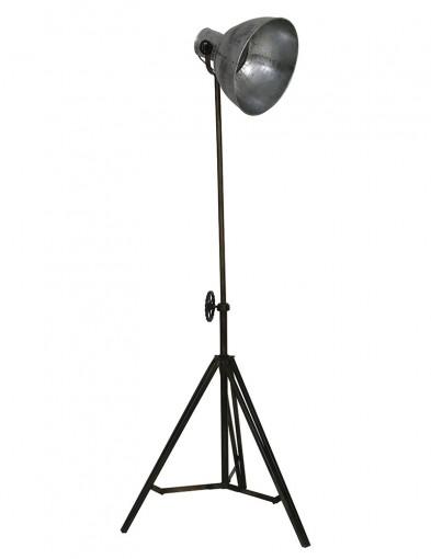 lampara de tripode plateada-1932ZI