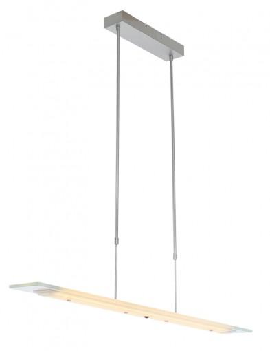 lampara de vidrio y acero-1727ST