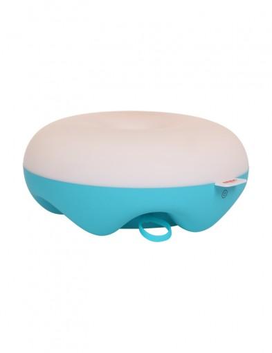 lampara donut azul-1574BL