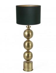lampara dorada y verde jadey-9175GO