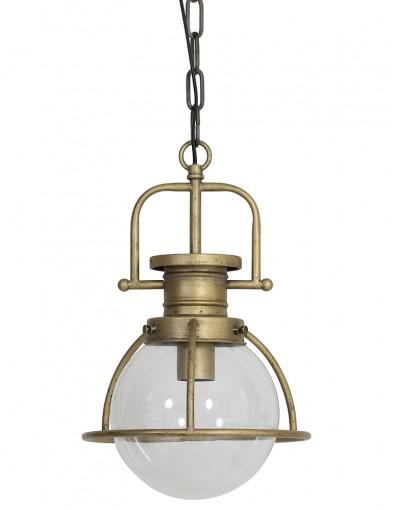 lampara esferica en bronce-1783BR