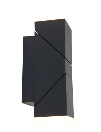 lampara exterior moderna negra-1507ZW