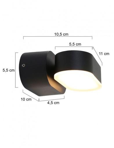 lampara-giratoria-negra-exterior-1499ZW-3