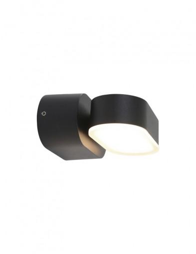 lampara giratoria negra exterior-1499ZW