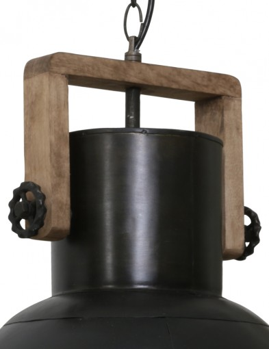 lampara-industrial-negra-con-detalle-de-madera-1678ZW-1