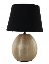 lampara jarron dorada-1635GO