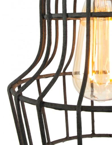 lampara-jaula-metal-8931GR-1