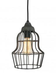 lampara jaula metal-8931GR