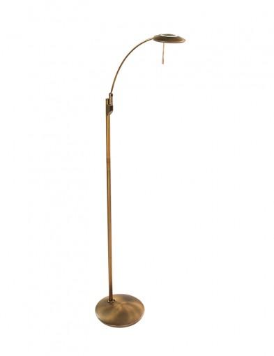 lampara led de pie diseno clasico bronce-7862BR