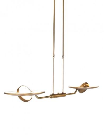 lampara led de techo estilo bronce clasica-2428BR
