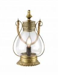 lampara linterna en dorado-1063BR