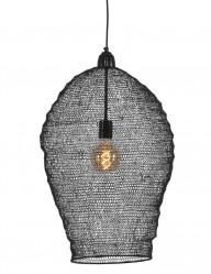lampara malla negra metalica-1378ZW