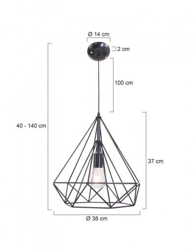 lampara-marco-negro-de-alambre-7597ZW-4
