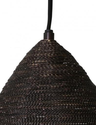 lampara-marron-con-interior-bronce-2020ZW-1