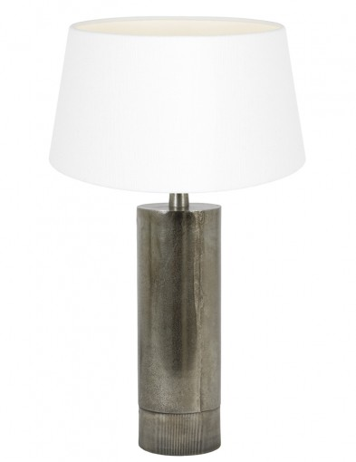 lampara metalica y blanca savi-9298ZW