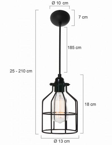 lampara-moderna-blanca-jaula-8898W-6
