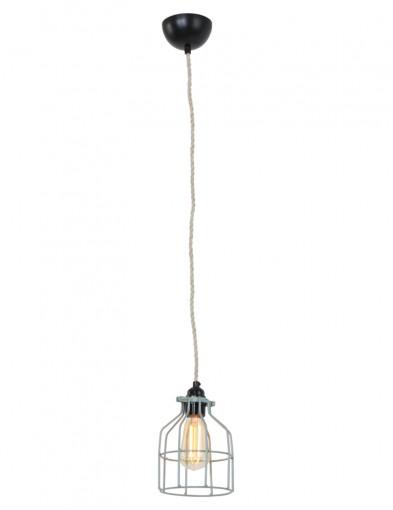 lampara-moderna-verde-jaula-8900G-4