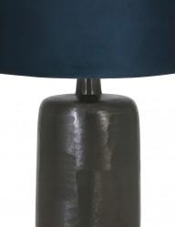 lampara-negra-con-pantalla-azul-papey-9195ZW-1