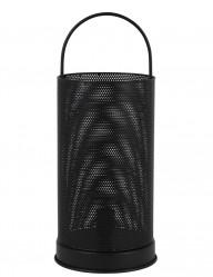 lampara negra malla cilindrica-1960ZW